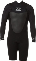 Billabong Foil 202 Chest Zip Long Sleeve Spingsuit