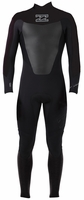 Billabong Foil 302 Men's Back Zip 3/2mm Flatlock Full Wetsuit