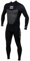 Billabong Foil 302 Mens Chest Zip 3/2mm GBS Full Wetsuit - Black