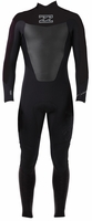 Billabong Foil 403 Men's Back Zip 4/3mm GBS Full Wetsuit - Black