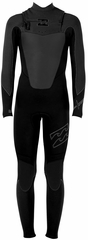 Billabong Foil 403 Men's Chest Zip 4/3mm GBS Full Wetsuit