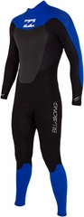 Billabong Foil Mens 3/2mm Wetsuit Sealed Glued Blind Stitched