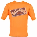 Billabong Iconic Rashguard Loose Fit Short Sleeve 50+ UV Protection - Orange