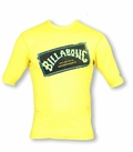 Billabong Iconic Rashguard Loose Fit Short Sleeve 50+ UV Protection - Yellow