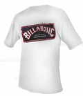 Billabong Iconic Rashguard Loose Fit Short Sleeve 50+ UV Protection - White