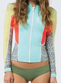 Billabong Peeky Jacket 2mm Front Zip Women's Neoprene jacket-Sea Foam