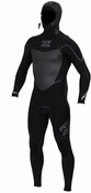 Billabong Solution SG5 504 Hooded Chest Zip 5/4/3mm Wetsuit