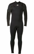 Billabong Xero Revolution 403 Men's Chest Zip 4/3mm Full Wetsuit - Black