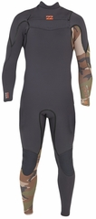 Billabong Xero Revolution 302 Men's Chest Zip 3/2mm Full Wetsuit - Camo