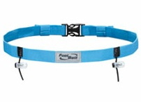 Blue Reflective Race Fuel Belt