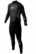 Body Glove 3/2mm Pro3 Mens Wetsuit - Black/Grey