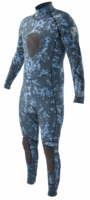 Body Glove 3mm EX3 Men's Free Dive Camo Wetsuit- NEW Blue Camo!