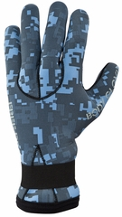 Body Glove EX3 Camo 3mm Diving Gloves - NEW Blue Camo!