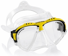 Cressi Matrix Two Window Dive Mask Yellow