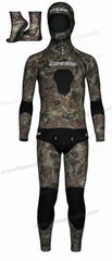 Cressi Sub�Tecnica Wetsuit�Mens Camouflage 5mm�Camo�Wetsuit�