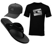 O'neill Flip Flops, Hats, Tshirts and more!