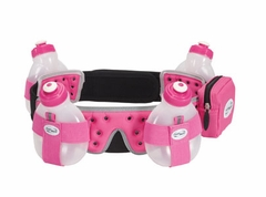 Fuel belt Helium 4 Bottle Belt: Pink