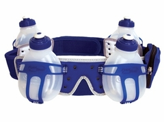 Fuel Belt Revenge 4 Bottle Belt: Atlantic Breeze (Royal Blue)