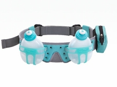 Fuel Belt Revenge R2O 2 Bottle Belt: Arctic Blue One Size Fits All