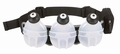 Fuel Belt Revenge R30 3 Bottle Belt: Black One Size Fits All