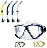 H2odyssey Diving Masks and Snorkels