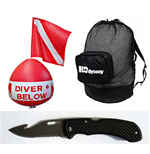H2odyssey Scuba Diving Knives Bags & Accessories