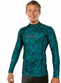 Henderson Camo Skin Rash Guard Long Sleeve Free Dive