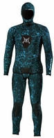 Henderson Free Dive 3mm Camouflage 2 Piece Men's Wetsuit Combo