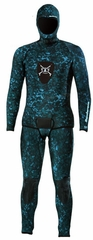 Henderson Free Dive 5mm Camouflage 2 Piece Men's Wetsuit Combo