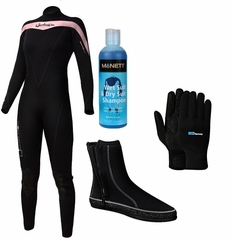 Henderson THERMOPRENE 5mm Women's Wetsuit Package