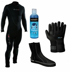 Henderson THERMOPRENE 7mm Men's Wetsuit Package