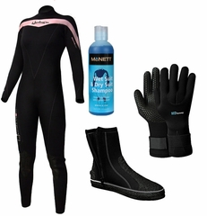 Henderson THERMOPRENE 7mm Women's Wetsuit Jumpsuit