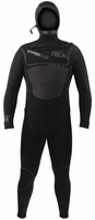 Hyperflex AMP-3  6/5/4mm Hooded Wetsuit MENS Wetsuit