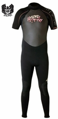 Hyperflex Cyclone 2mm Men's Short Sleeve Full Wetsuit