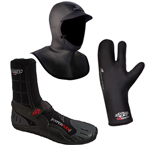Hyperflex Neoprene Boots, Hoods & Gloves