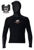 Hyperflex�Polyolefin Long Sleeve 3mm Hooded Rash Guard� CLOSEOUT SALE!