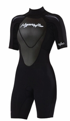 Hyperflex Women's CYCLONE Shorty Springsuit 2.5mm