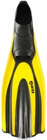 Mares Avanti Superchannel Full Foot Fin - Yellow