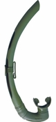 Mares Dual Free Diving Snorkel - Green