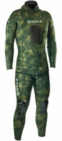 Mares Pure Instinct 3.5mm Green Camo Men's 2 Piece Wetsuit Combo