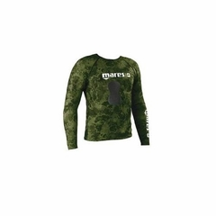 Mares Pure Instinct Rashguard Top w/ Loading Pad Greeen Camo