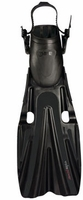 Mares Volo Power Open Heel Fin - Black