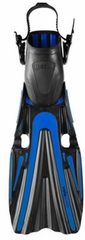 Mares Volo Power Open Heel Fin - Blue
