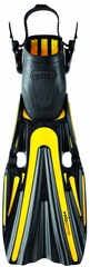 Mares Volo Power Open Heel Fin - Yellow