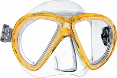 Mares X-Vu Dive Mask - Yellow