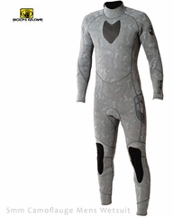 Men's 5mm Camouflauge Spear Fishing Camo Full Wetsuit