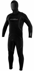 Men's O'Neill 7mm J-Type FSW Hooded Diving Wetsuit