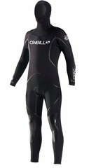 Men's O'Neill 7mm J-Type FSW Hooded Wetsuit Diving