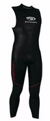 Mens Blue Seventy Reaction Long John Sleeveless Wetsuit - VIDEO