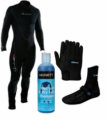 Mens Henderson 3mm Thermoprene Wetsuit Package!